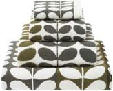 Orla Kiely Multi Stem Towel - Moss - Bath Sheet