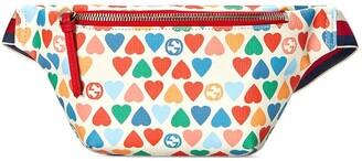 Gucci Kids Heart-Print Belt Bag