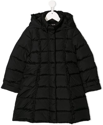 Il Gufo Square Quilted Coat