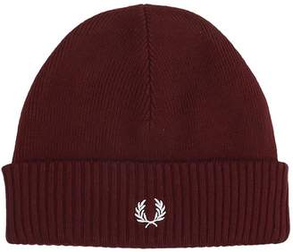 Fred Perry Hats In Bordeaux Wool