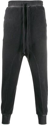Thom Krom drawstring-waist drop-crotch trousers