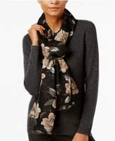 Echo Floral Pleated Wrap & Scarf-in-One, Created for Macy's