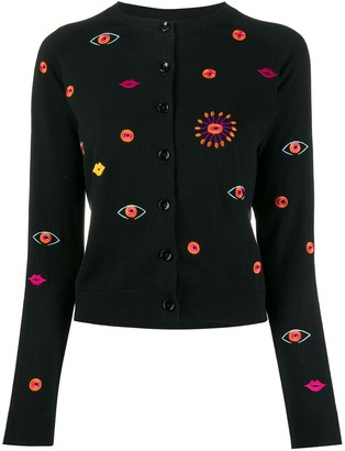 Paul Smith Embroidered Detail Cardigan
