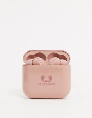 Fresh n Rebel Twins in-ear headphone in pink