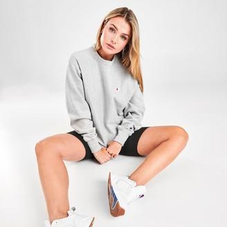 Champion Women's Life Reverse Weave Boyfriend Crew Sweatshirt