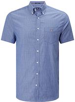 Gant Broadcloth Stripe Short Sleeve Shirt