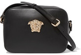 Versace Palazzo Embellished Leather Camera Bag - Black