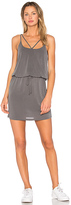 Lanston Cross Strap Dress in Gray. - size L (also in )