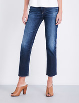 AG Jeans Ladies Vintage The Isabelle Straight High-Rise Jeans