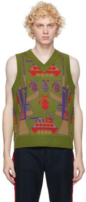 Landlord Green Shareware Sweater Vest