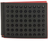 Christian Louboutin Clipsos Studded Leather Bi-Fold Wallet
