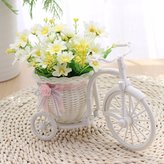 XHOPOS HOME-Fake flowers XHOPOS HOME Artificial Flowers Creative Flower Baskets Daisy White Decorative Fake Flowers For Bridal Bouquet Home Party And House Decor Garden Decor