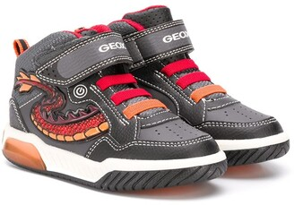 Geox Kids Inek light-up sneakers