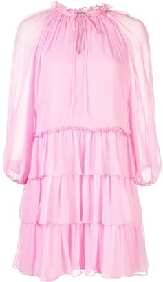 Alice + Olivia Layla tiered dress