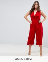 Asos Jumpsuit with Cowl Neck