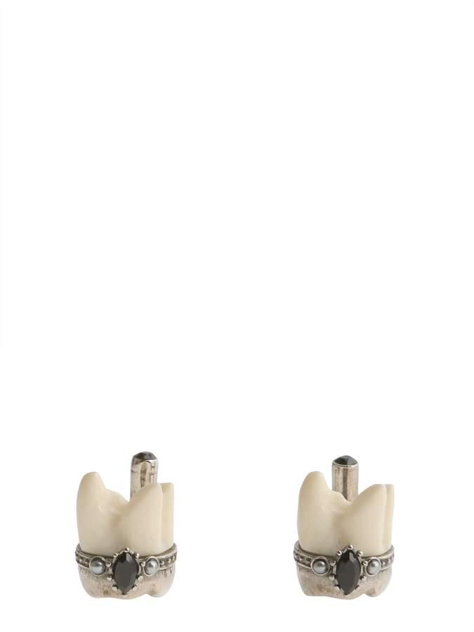 Alexander McQueen Tooth Cuffflinks