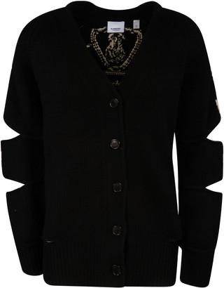 Burberry V-neck Buttoned Cardigan