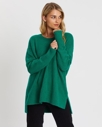 Atmos & Here Fiona High Low Knit