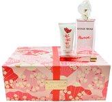 Hanae Mori Hanae 3 Pc Gift Set ( Eau De Parfum Spr 3.4 Oz + Roller Ball 0.33 Oz+ Body Cream 1.7 Oz )