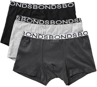 Bonds Boys Trunk 3 Pack