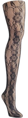 Hanes Fashion Tights Fishnet Lace Tights