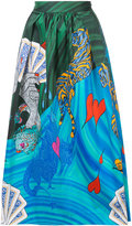 Mary Katrantzou Bowles Surreal skirt