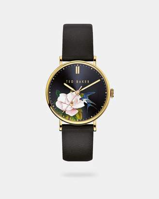 Ted Baker PANNIA Opal dial leather strap watch
