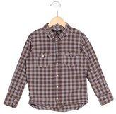 Little Marc Jacobs Boys' Plaid Button-Up Shirt