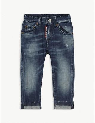 DSQUARED2 Cuffed denim jeans 6-36 months