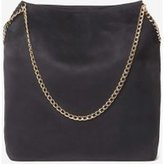 Dorothy Perkins Womens Black Chain Unlined Shopper Bag- Black