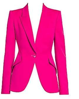 Alexander McQueen Women's One-Button Blazer