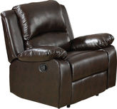 Asstd National Brand Bostonville Faux-Leather Recliner