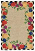 Liora Manné Fruits 3-Foot 6-Inch x 5-Foot 6-Inch Indoor/Outdoor Area Rug