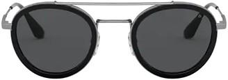 Prada Round Frames Sunglasses