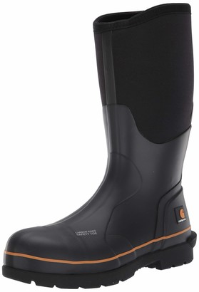 "Carhartt Men's 15"" Waterproof Rubber Pull-On Carbon Nano Safety Toe CMV1451 Knee High Boot"