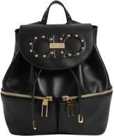 Salvatore Ferragamo Jam Groove Leather Backpack