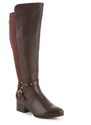 Celebrity Pink Dominga Wide Calf Riding Boot