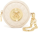 Love Moschino Quilted Medallion Wristlet