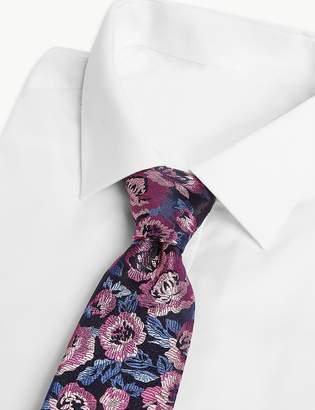Marks and Spencer Luxury Silk Rose Design Tie
