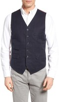 Kroon Men's Hootie Solid Cotton & Linen Vest