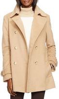 Lauren Ralph Lauren Long Sleeve Notched Collar Coat