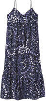 Joe Fresh Women's Print Tank Dress, Dark Blue (Size XS)