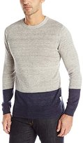 Scotch & Soda Men's Home Alone Lightweight Linen Mix Sweater