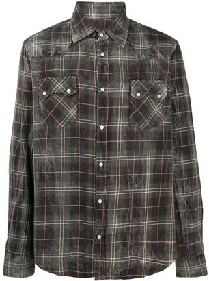 Family First Plaid-Check Shirt