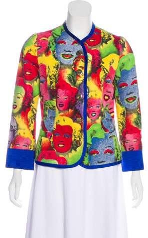 Gianni Versace Vintage Pop Art Printed Jacket