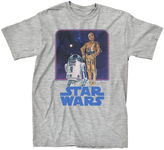 Star Wars Novelty T-Shirts Vintage Droids Tee - Boys 8-20