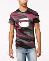 G Star Men's Zeabel Camouflage Logo-Print T-Shirt