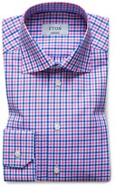 Eton of Sweden Check Contemporary Fit Dress Shirt