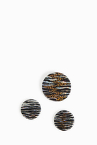 Isabel Marant Animal Print Badge Set
