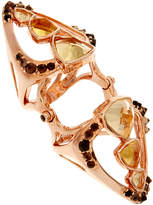Circe Katie Rowland Deco Knuckle Citrine Ring